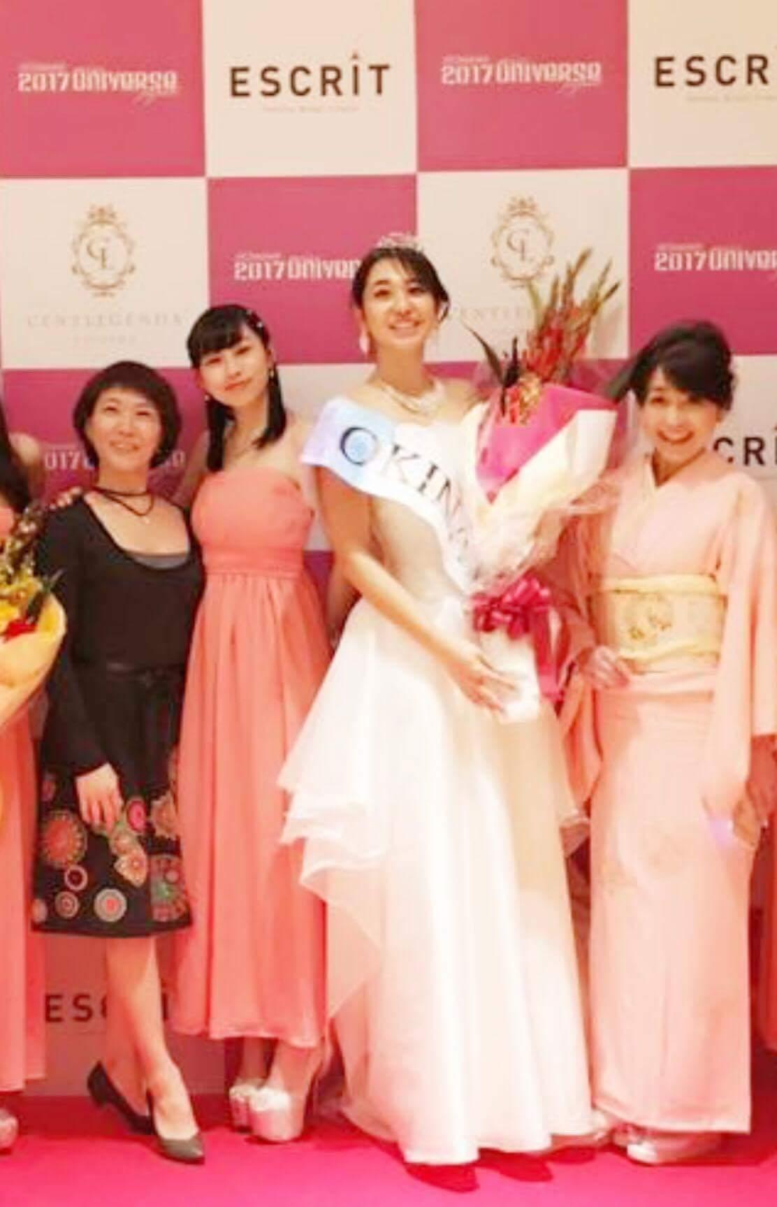ミス・ユニバース沖縄大会でのメイクレッスン