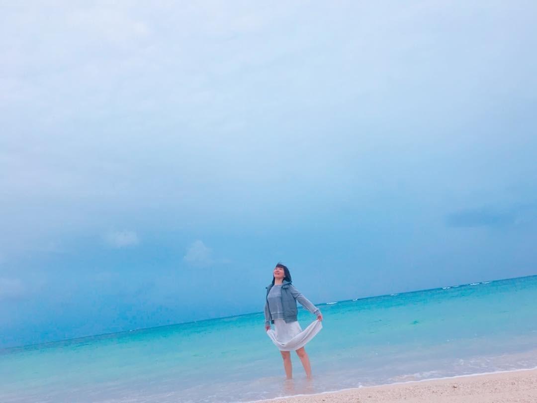 沖縄 メイク 海
